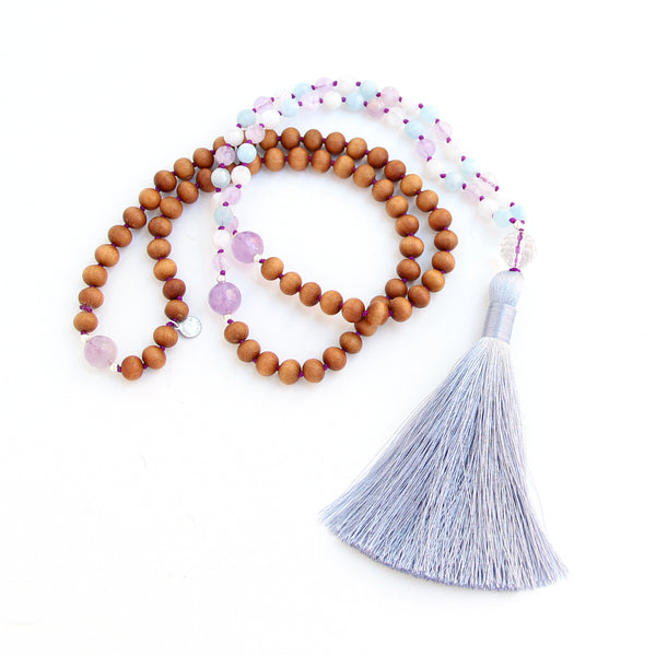 Inner Spirit Mala - Blooming Lotus Jewelry