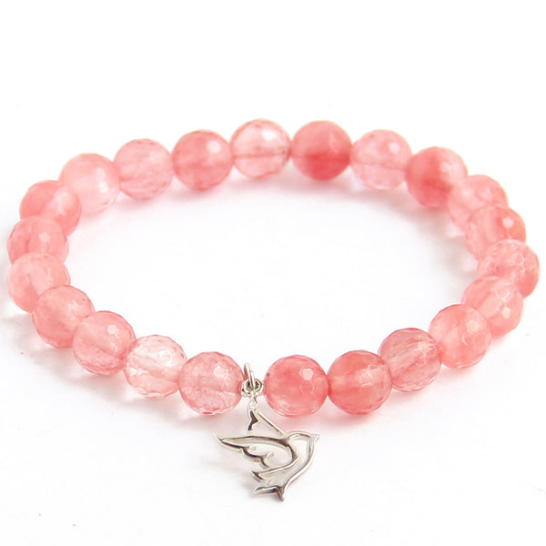 Be Free (Cherry Quartz) - Blooming Lotus Jewelry