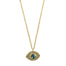 Mini Eye Am Protected (Solid 14k Gold) - Blooming Lotus Jewelry