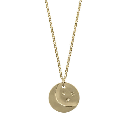 Mini Eye Am Protected (Solid 14k Gold)