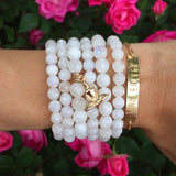 Goddess Stack (gold) - Blooming Lotus Jewelry