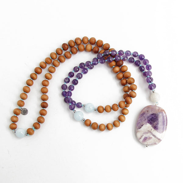 Wanderlust Mala - Blooming Lotus Jewelry