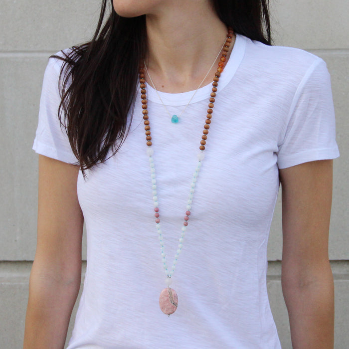 Mommy Mala - Blooming Lotus Jewelry