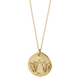 Blooming Lotus (solid 14k Gold) - Blooming Lotus Jewelry