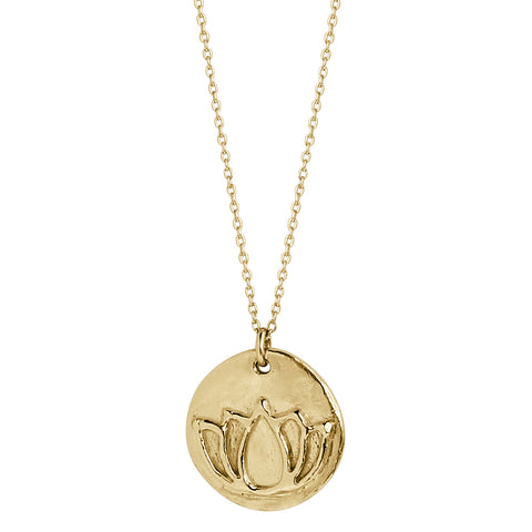 Luna (solid 14k gold; small)