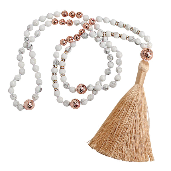 Stay Golden Mala - Blooming Lotus Jewelry