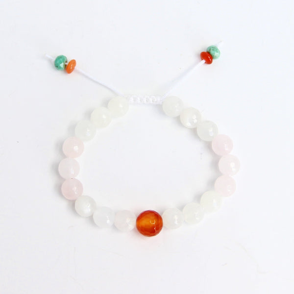Fertility Wrist Mala - Blooming Lotus Jewelry