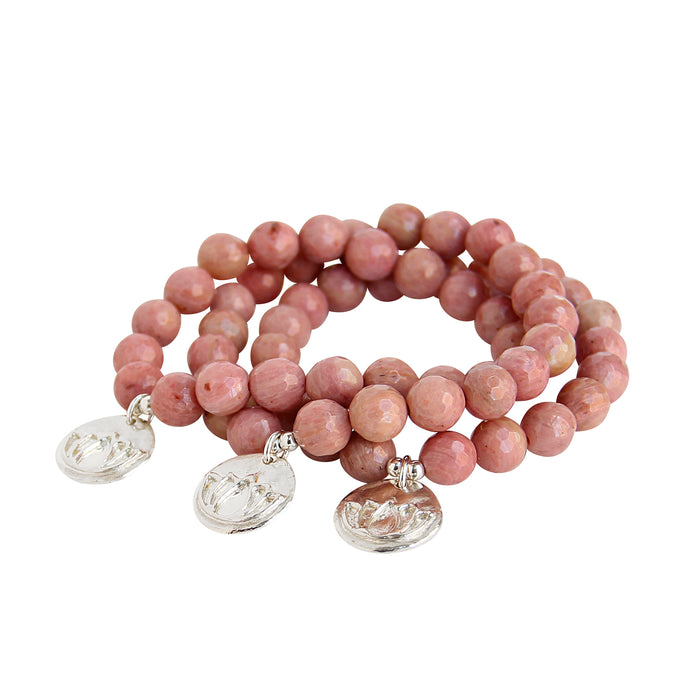 Bloom (Rhodonite) - Blooming Lotus Jewelry
