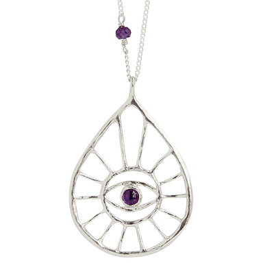 Eye Am Protected (sterling) - Blooming Lotus Jewelry