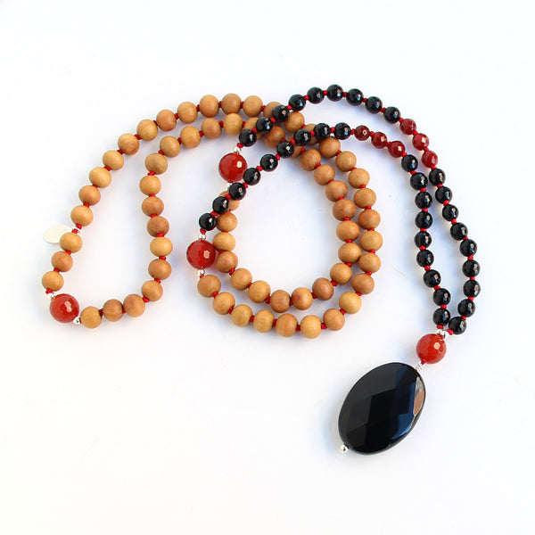 Root Down Mala - Blooming Lotus Jewelry
