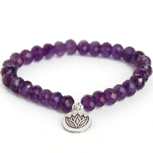 Blooming Lotus (Amethyst) - Blooming Lotus Jewelry