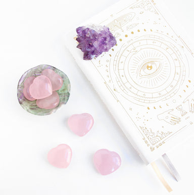Rose Quartz Heart - Blooming Lotus Jewelry