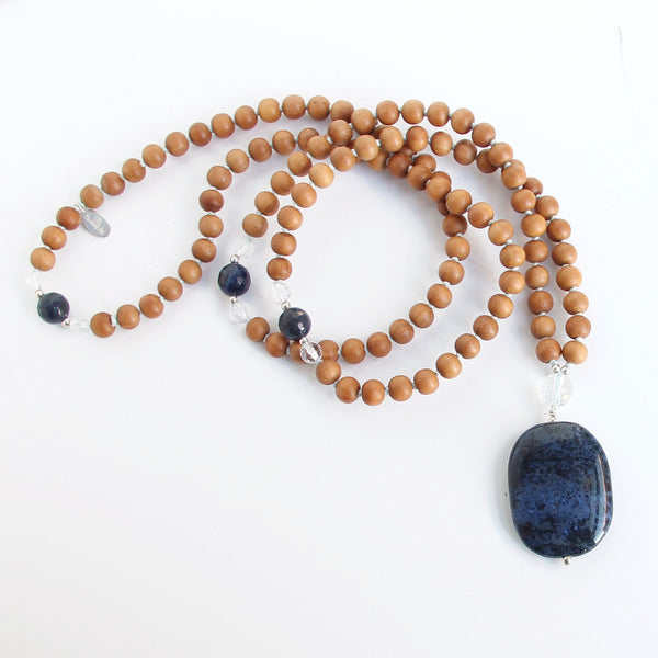 Intuition Mala - Blooming Lotus Jewelry