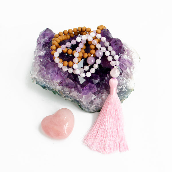 Love & Light Mala - Blooming Lotus Jewelry