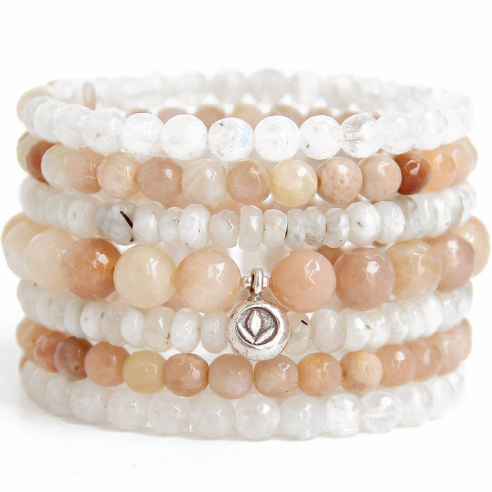 New Beginnings Stack - Blooming Lotus Jewelry