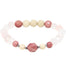 Let Love Flow Bracelet | Rose Quartz, Rhodonite, Riverstone