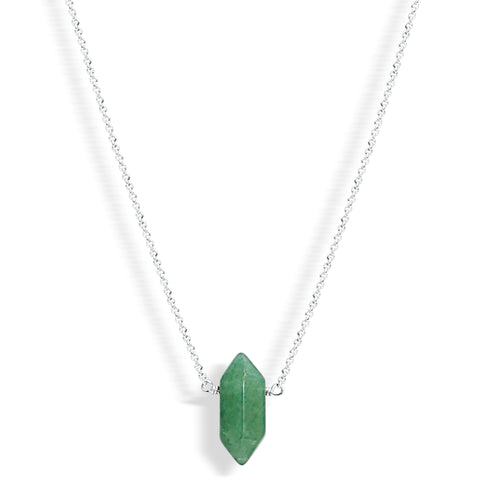 Mini Aventurine Point (gold)