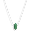 Mini Aventurine Point (sterling) - Blooming Lotus Jewelry