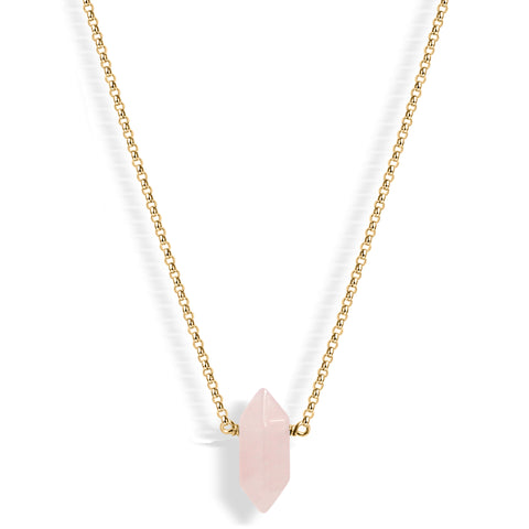 Herkimer Diamond Handchain (gold)