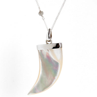 Mother of Pearl Necklace | Large | Sterling