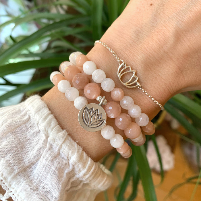 New Beginnings Stack | Lotus | Moonstone
