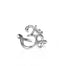 Silver Om Ring yoga jewelry - Blooming Lotus Jewelry