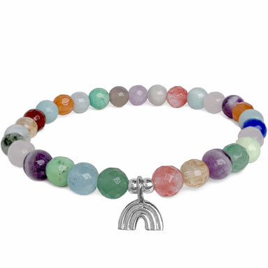 Rainbow Bracelet | mixed gemstones