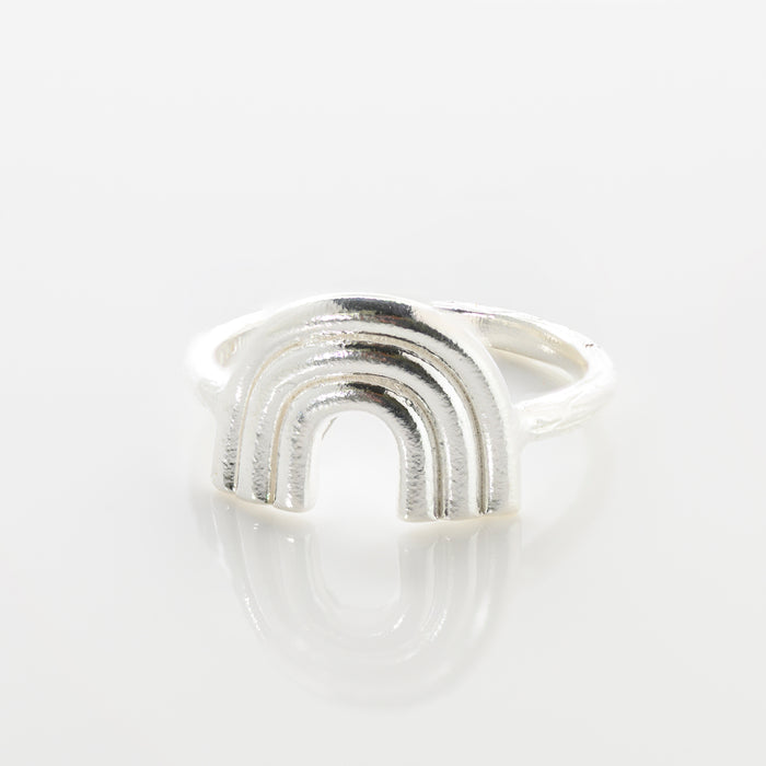 Rainbow Ring | sterling