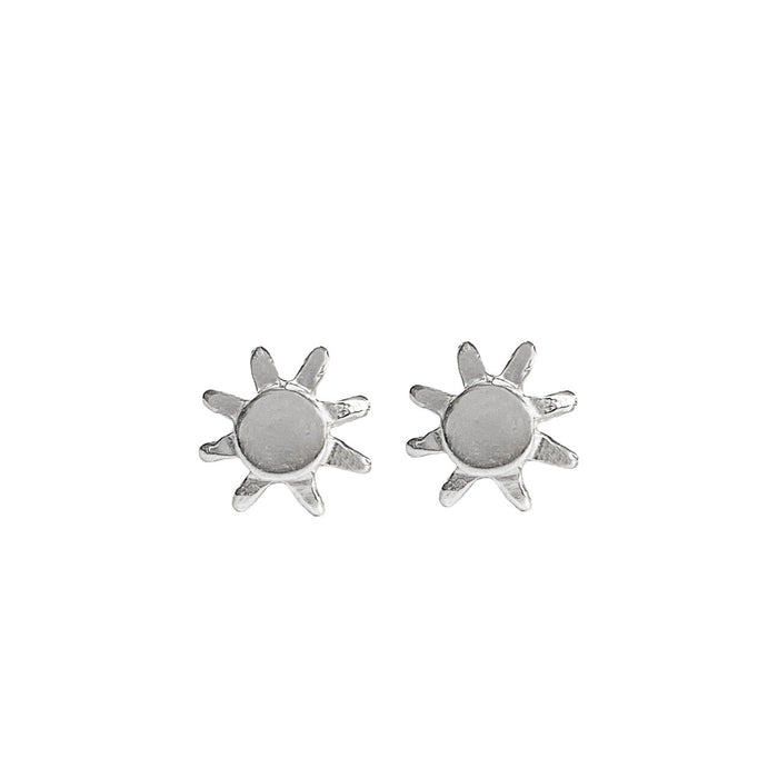 Soleil Stud Earrings | Sterling