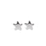Tiny Star Stud Earrings silver celestial Blooming Lotus Jewelry