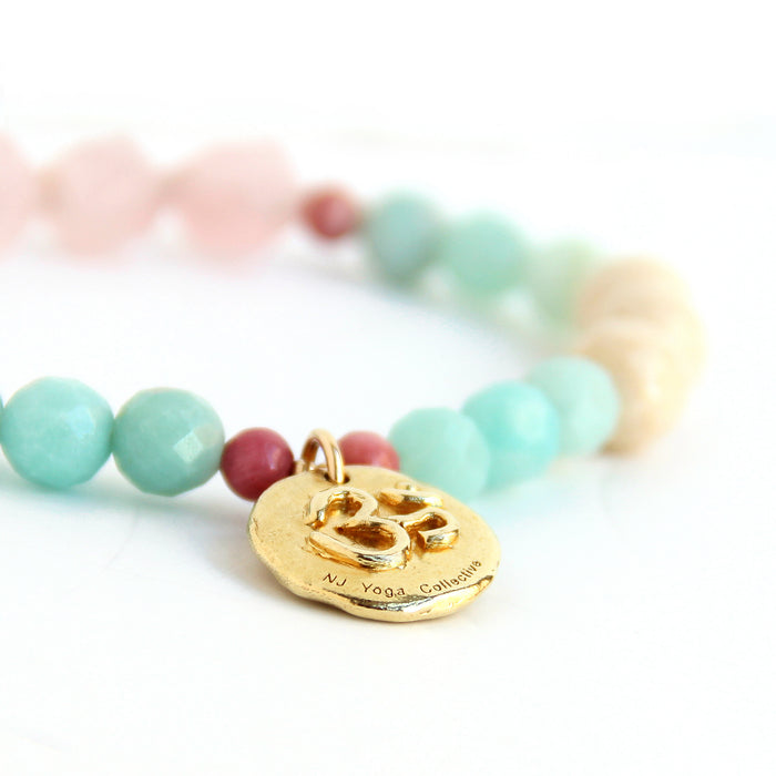 VibeWell Bracelet - NJ Yoga Collective - Blooming Lotus Jewelry