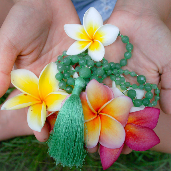 I Am Loved Mala (Heart Chakra) - Blooming Lotus Jewelry