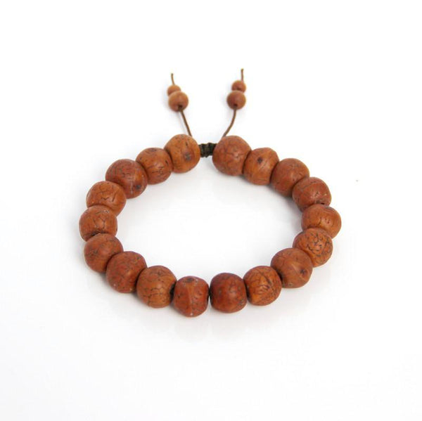 Bodhi Seed Wrist Mala (mens) - Blooming Lotus Jewelry
