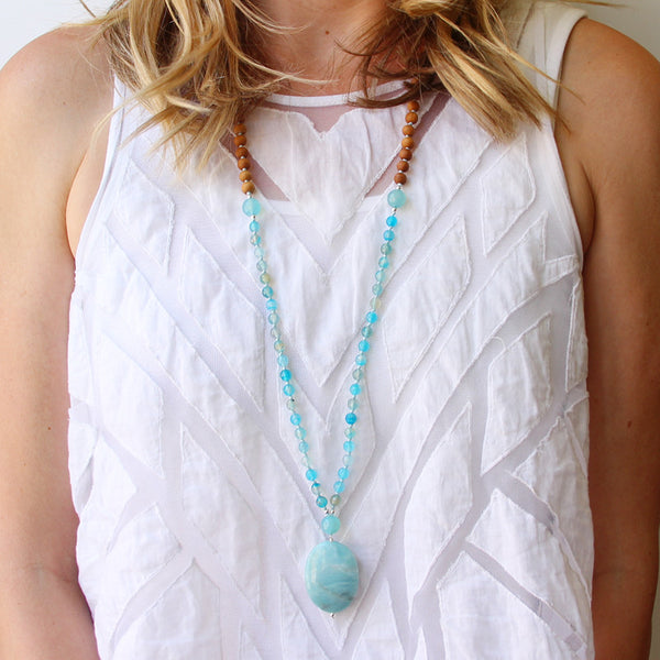 Vitamin Sea Mala - Blooming Lotus Jewelry