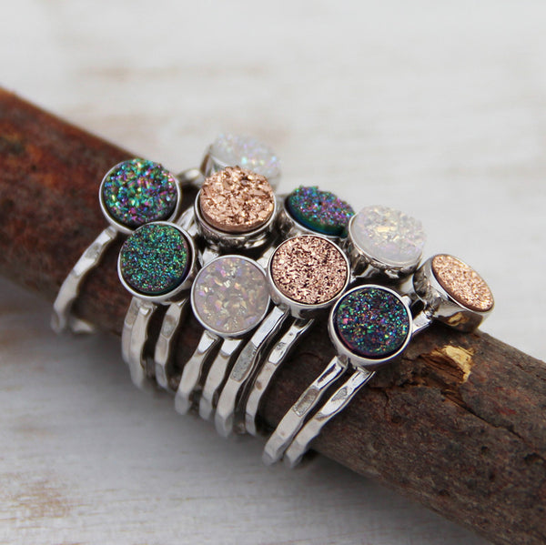 Moon Dust Ring - Blooming Lotus Jewelry