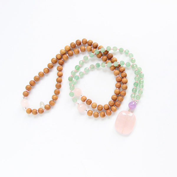 Be Love Mala - Love Mala Beads - Blooming Lotus Jewelry