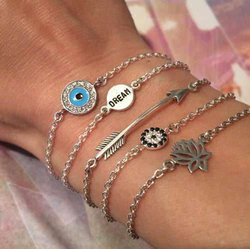 Evil Eye Mini - Blooming Lotus Jewelry