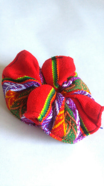 Hair Scrunchie- Red