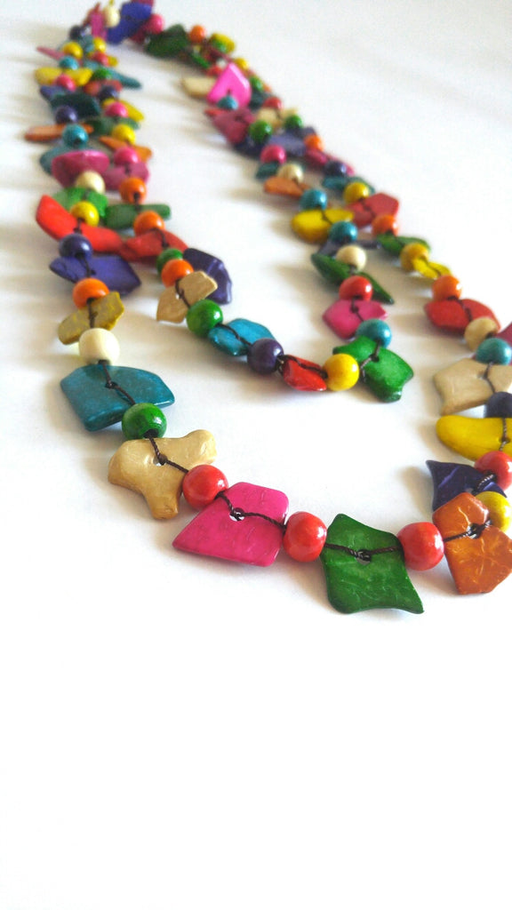 Wooden Necklace- Isabelle