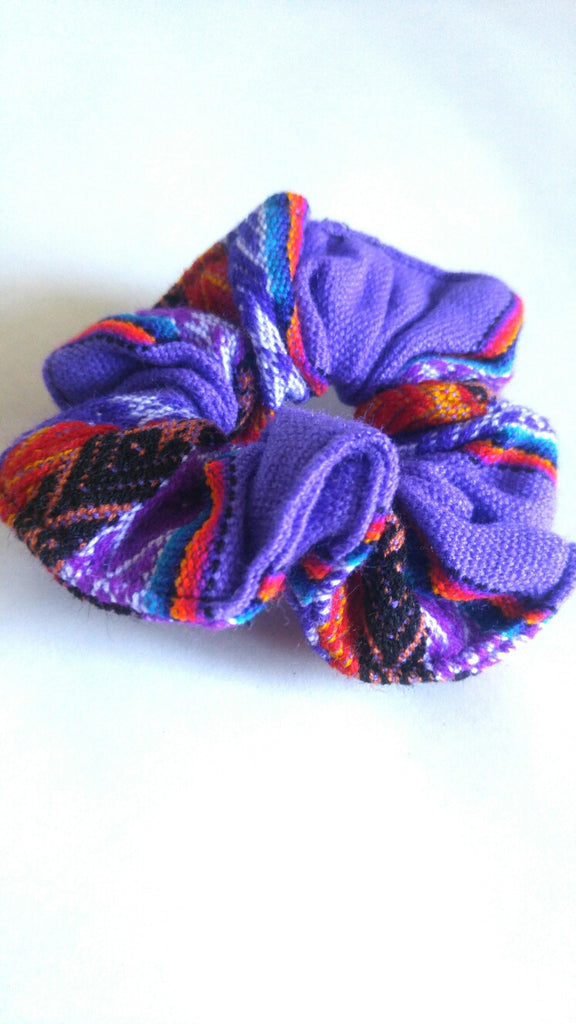 Hair Scrunchie- Purple