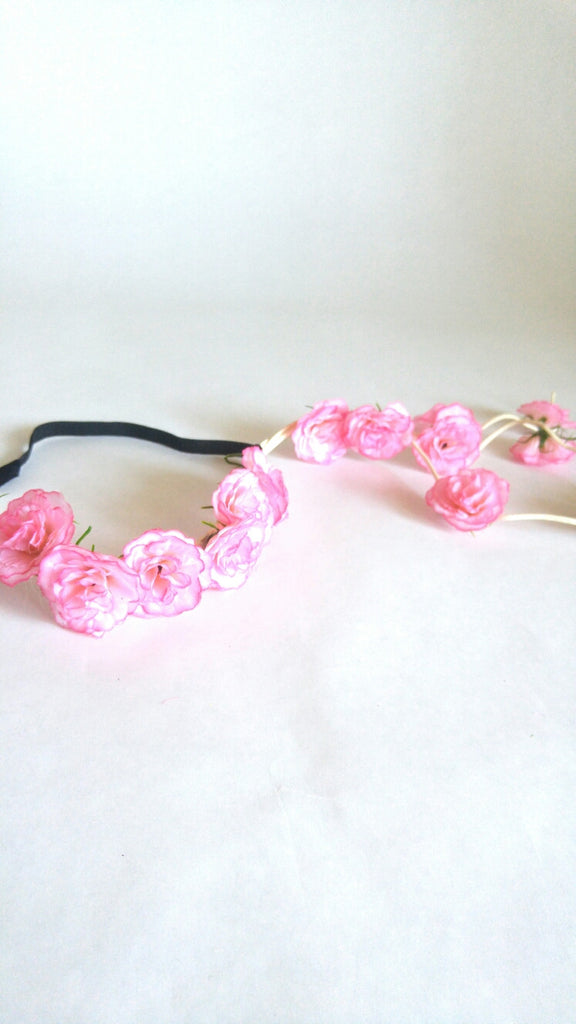 Floral Crown-Light Pink
