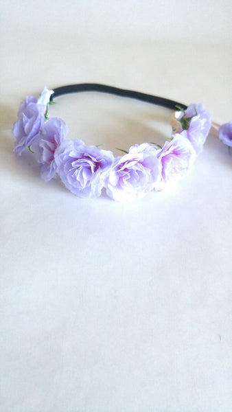 Floral Crown- Purple
