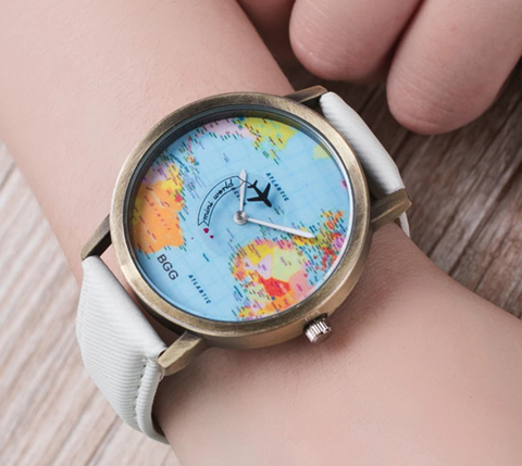 "AdventuReady Store ""Come Fly With Me"" Travel Watch"