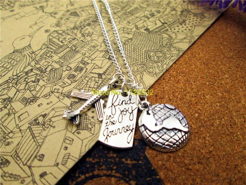 "AdventuReady Store ""Find Joy In The Journey"" Necklace"