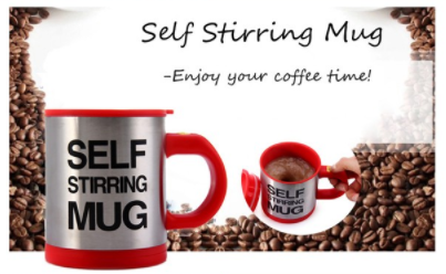 AdventuReady Store Self Stirring Coffee Mug