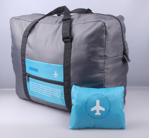 AdventuReady Store Sky Blue World's Most Portable Travel Suitcase