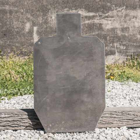 "3/8 AR500 Steel IPSC Torso A-C Target (with D Zone) 18"" x 30"""