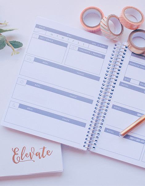 Elevate 90 Day Wellness Journal