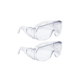 Clear Disposable Protective Safety Glasses