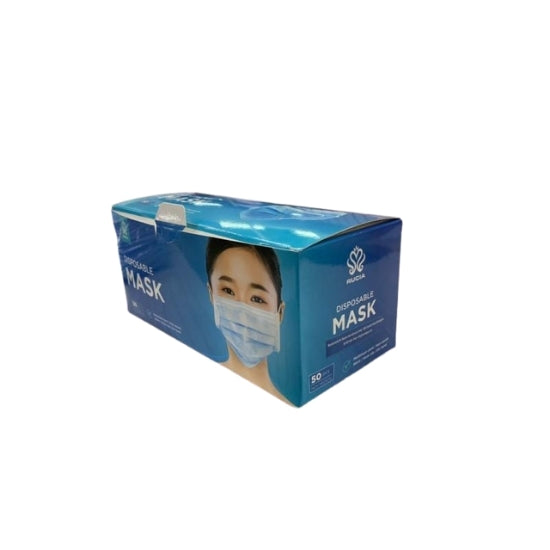 Disposable 3 Ply Protective Face Mask (50 pcs)